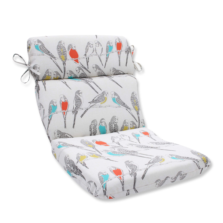 Pillow perfect outdoor indoor retweet mango rounded corners chair