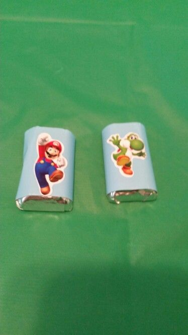 Super Mario Party Mini Candy Bars
