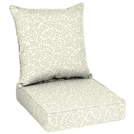 Better Homes And Gardens Outdoor Patio Deep Seat Set Tonal Leaf