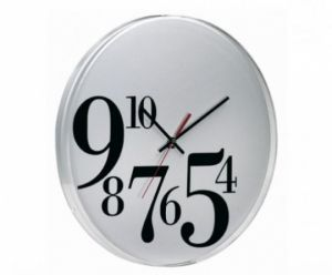 ساعه حائط بارقام كبيرة Wall Clock Wall Clock Modern Clock Design