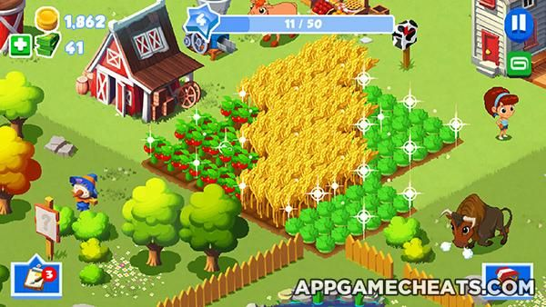 Pin by AppGameCheats com on Adventure | Green farm, Cheating