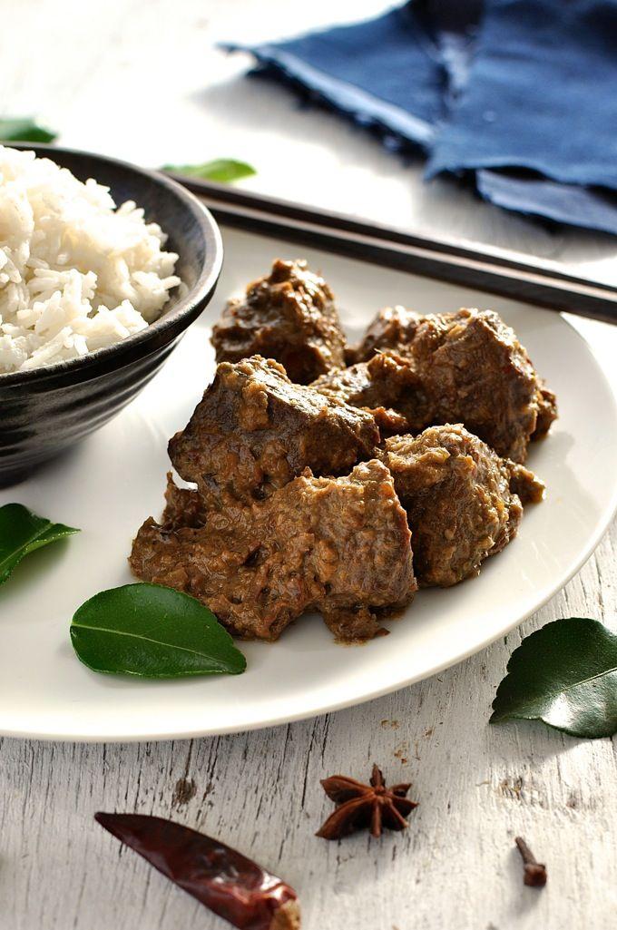 Beef Rendang Recipe Recipetin Eats Food Recipes Food