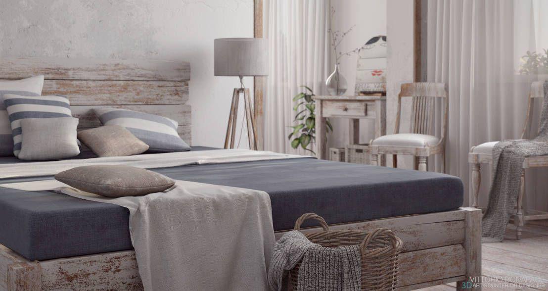Camera da letto shabby chic: 15 idee romantiche... ispiratevi!