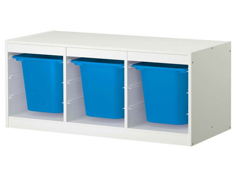 Blue Plastic Ikea Childrens Storage Units Boys 39 Rooms