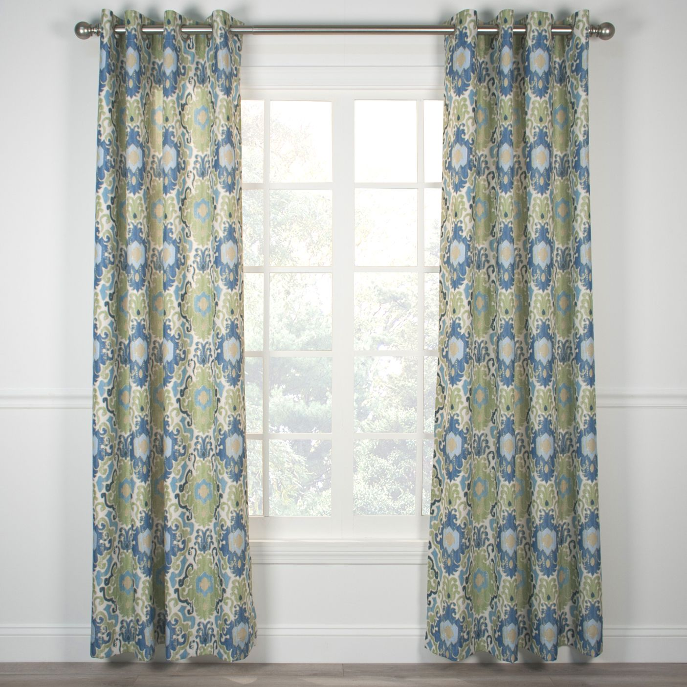 Captivating Tuscany Grommet Top Curtain Panel