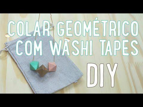 DIY: Pingente de washi tape - A.Craft   Artesanato e artes para relaxar