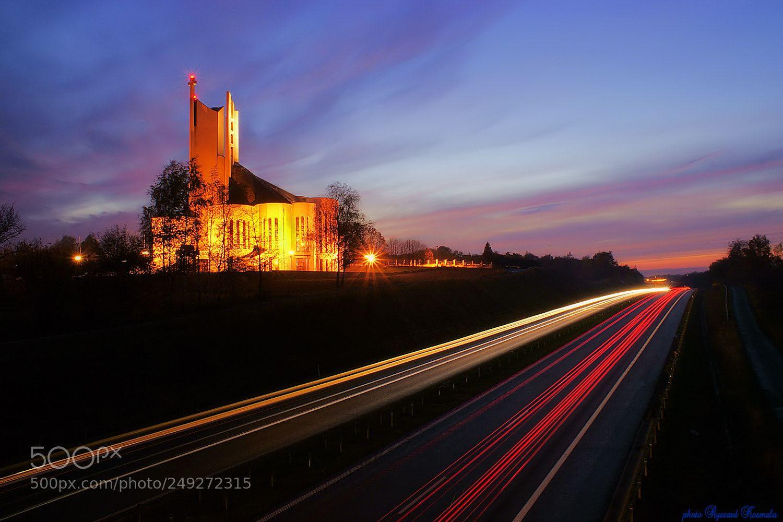 Church by the road by Ryszard_Kosmala
