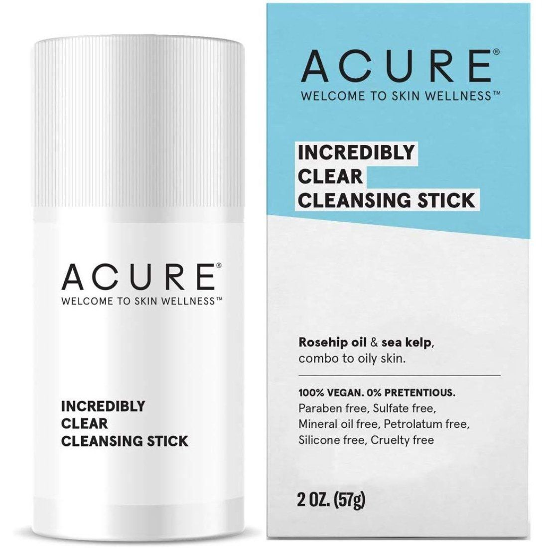 ACURE Incredibly Clear Facial Cleansing Stick In 2020