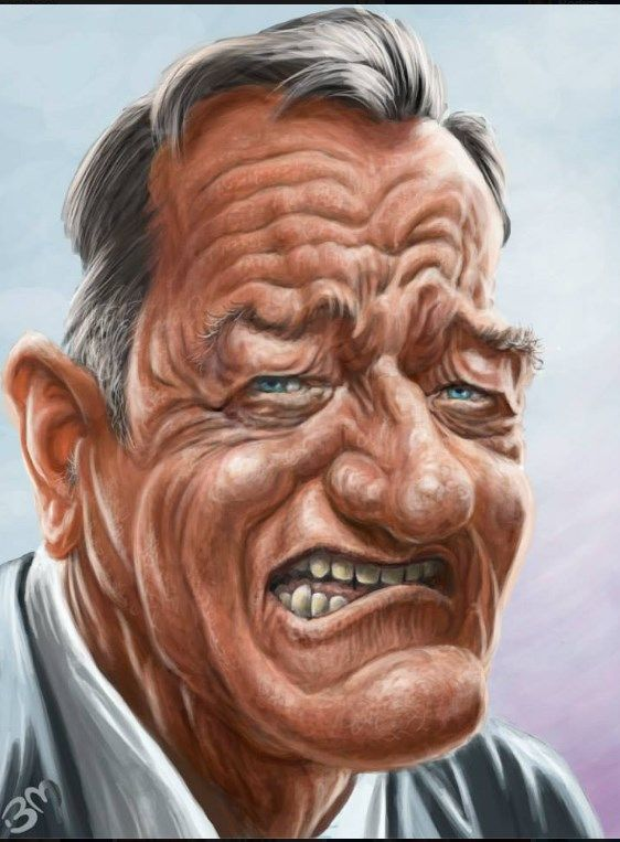 John Wayne - Bruno Munier
