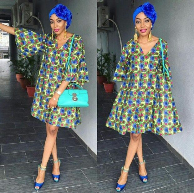 10 Amazing Ankara Short Gown Styles For Ladies in 2018 | Africa ...