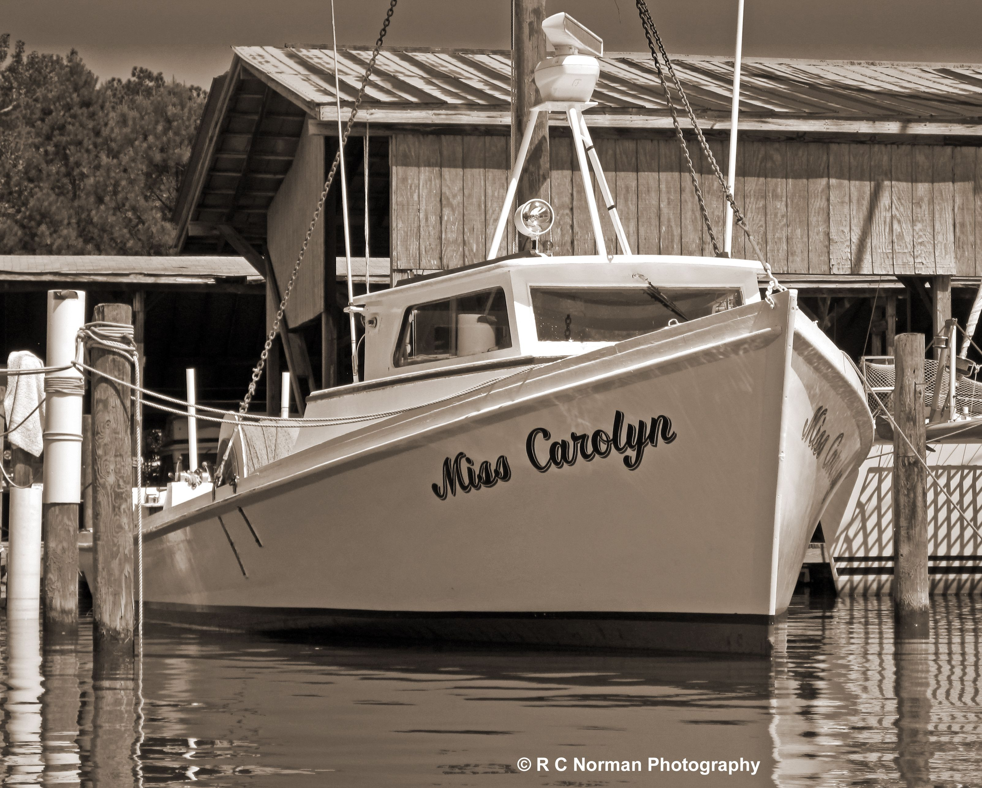 the old deadrise work boats the miss carolyn is a beauty and i