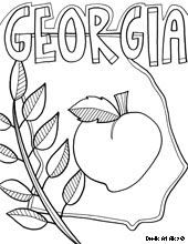 State Coloring Pages Coloring Pages Coloring Books State Crafts