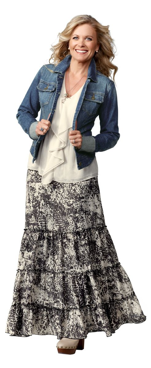 CAbi Spring 2012 Collection - casual look