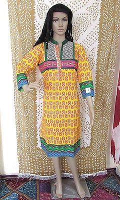 Indian Style Women Kurti Kurta Blouse Designer Dress Casual Tunic sz-L S11N