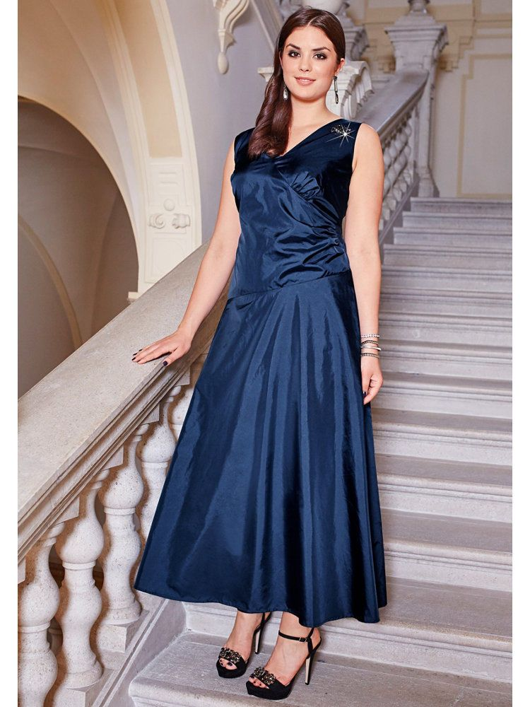 Unique abendkleid marine