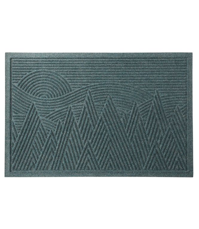 Everyspace Recycled Waterhog Doormat Mountain Scene In 2020 Waterhog Mat Door Mat Mountain Scene