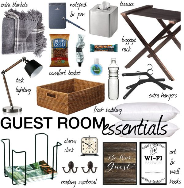 Guest Room Essentials Essentials Room And Polyvore