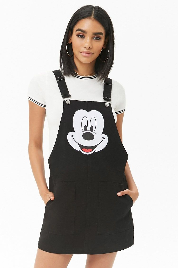 a9783c010ff Mickey Mouse Dungaree Dress