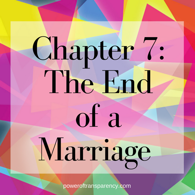 Ch 7: The End Of The Marriage Good Things Fall Apart! Chapter 7 Is