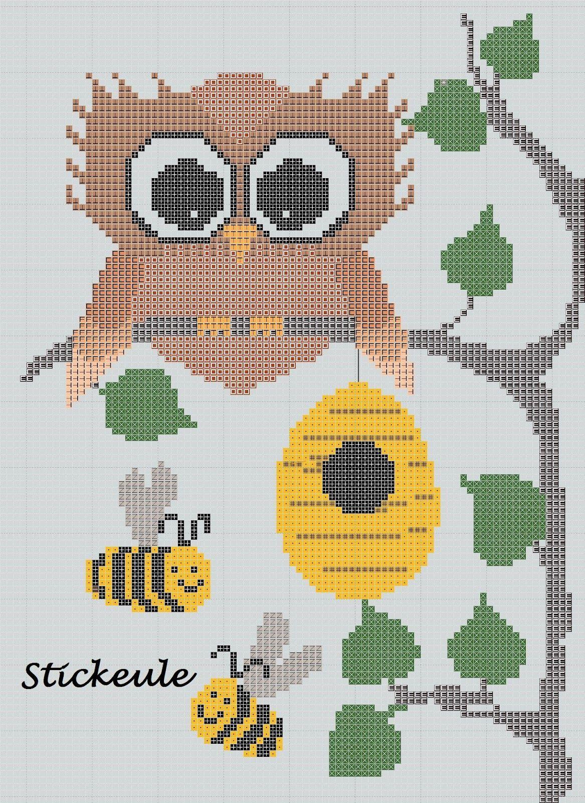 Stickeules Freebies   crafts   Pinterest   Freebies, Eule und ...
