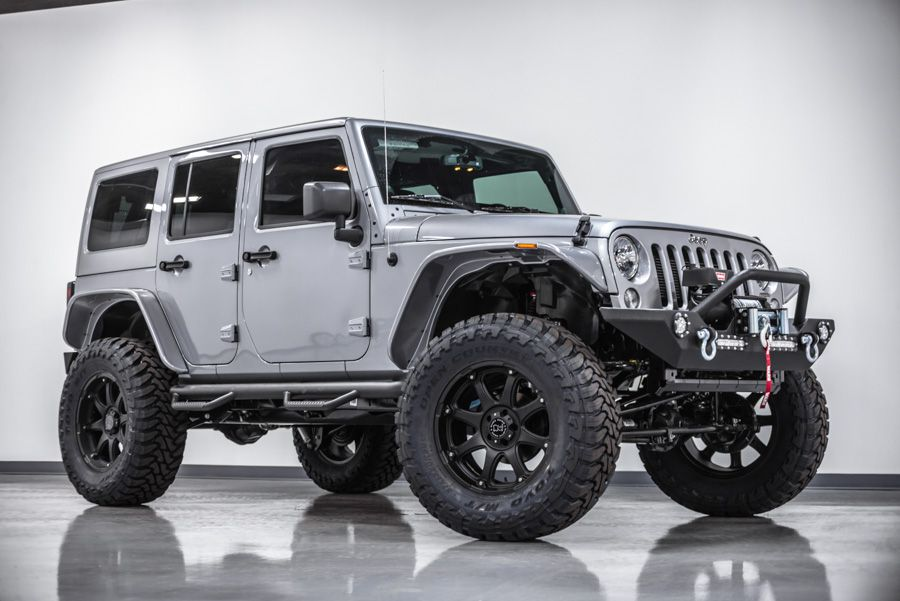 Car Brand Auctioned Jeep Wrangler Sahara Custom Jeep Wrangler