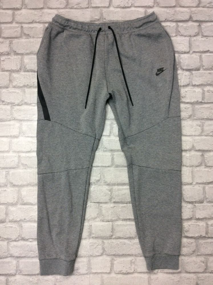 6df92fd4a7aa96 NIKE MENS UK XXL TECH FLEECE JOGGERS GREY SWEATPANTS WINTER THERMAL SPORTS # fashion #clothing #shoes #accessories #mensclothing #activewear (ebay link)