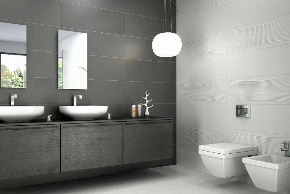 carrelage de salle de bain nano fantasy white anthracite porto venere bathroom pinterest. Black Bedroom Furniture Sets. Home Design Ideas