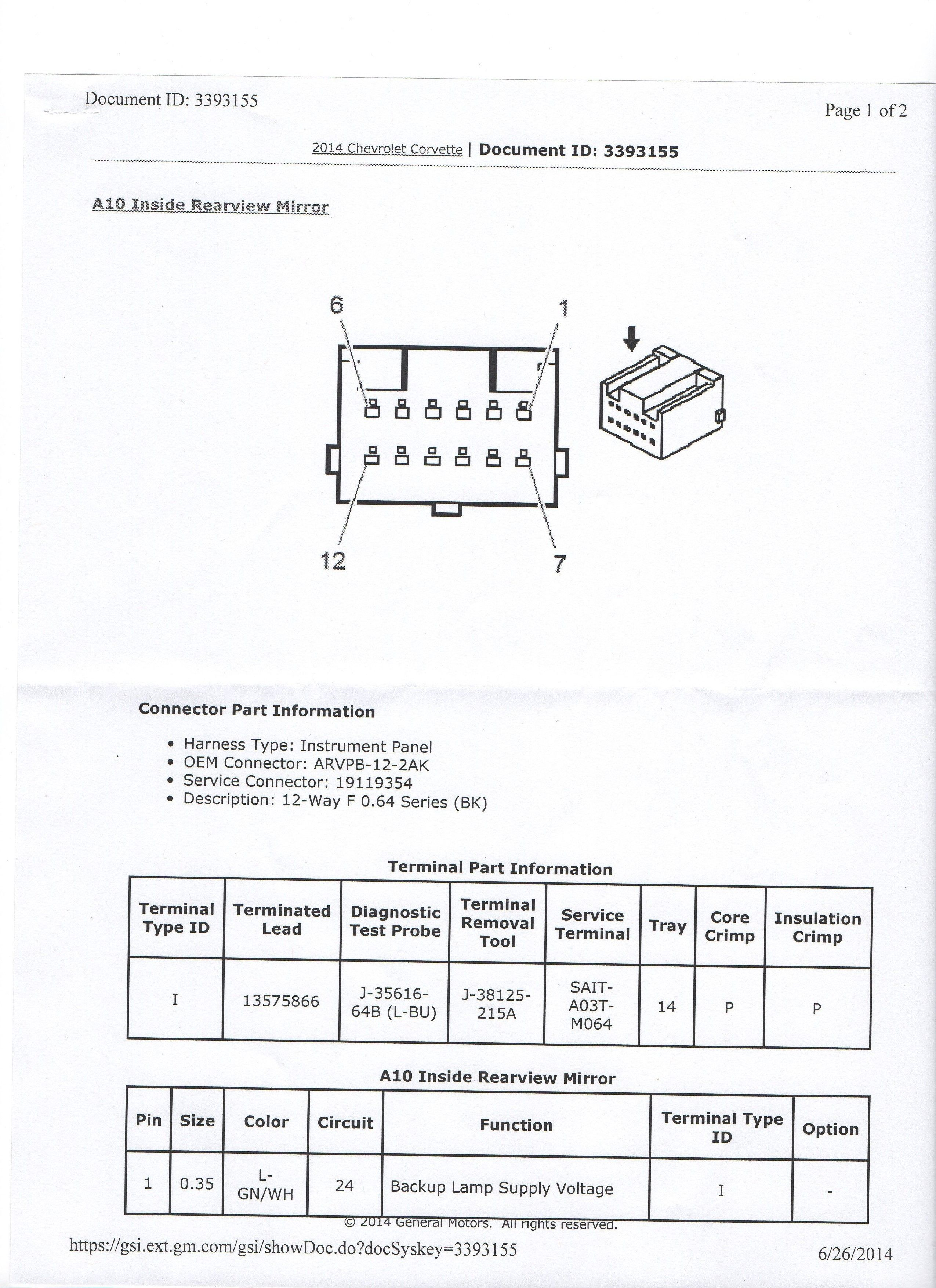 Gm Rear View Mirror Wiring Diagram from i.pinimg.com