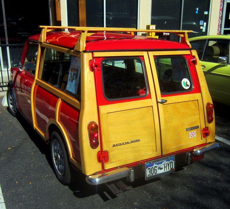 Mini Cooper Clubman Woody Wagon