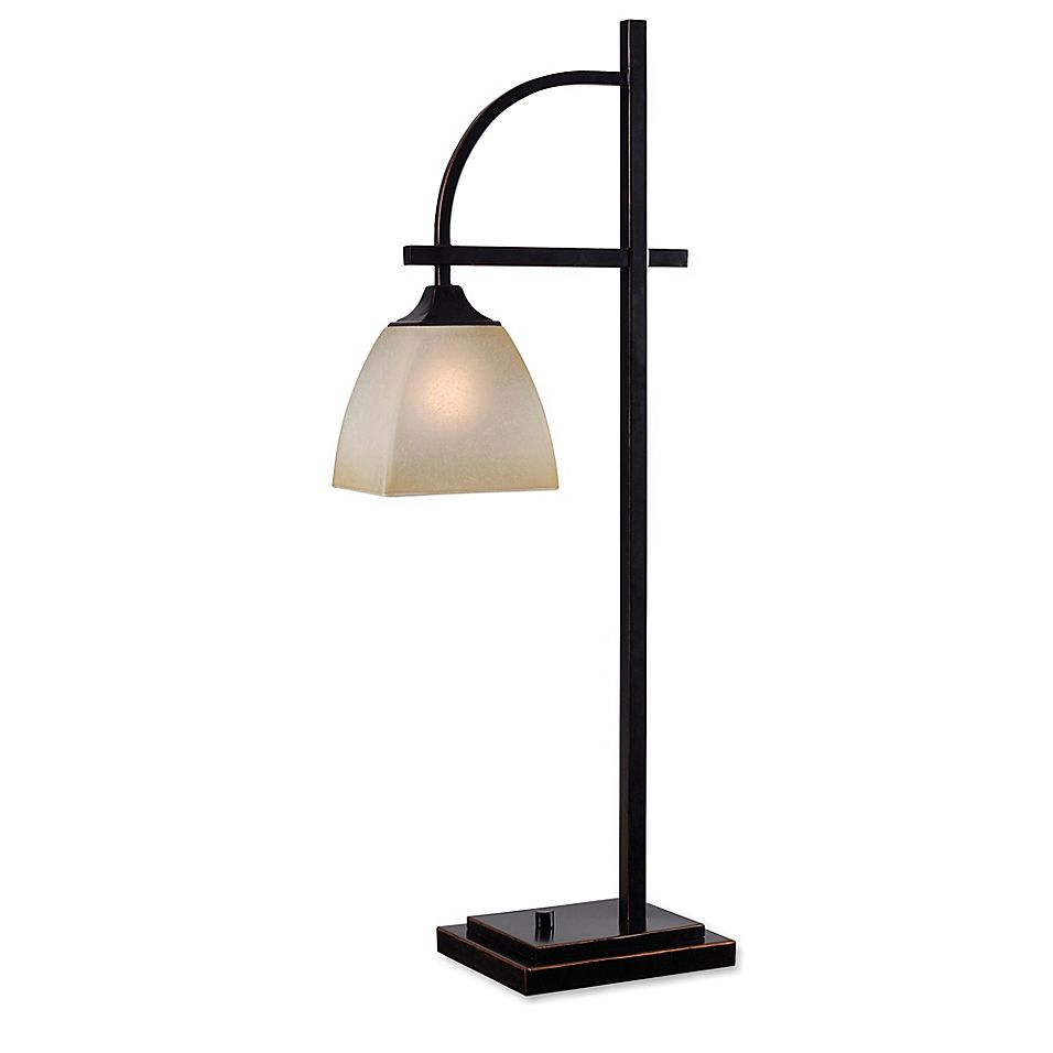 Kenroy Home Arch Table Lamp In Oil Rubbed Bronze With Glass Shade Bed Bath Beyond In 2021 Kenroy Home Bronze Table Lamp Contemporary Table Lamps Oil rubbed bronze table lamps