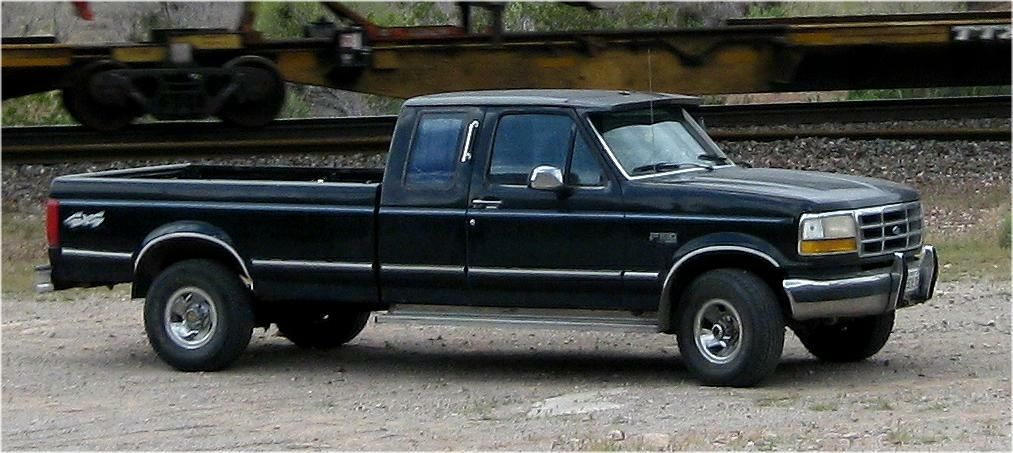This Is My Favorite Truck It Has A 300 Cu In Six Cylinder And 5 Forward Speeds In The Manual Transmission It Gets Great Mileage 22 It Is A 1992 Ford F150 4 W