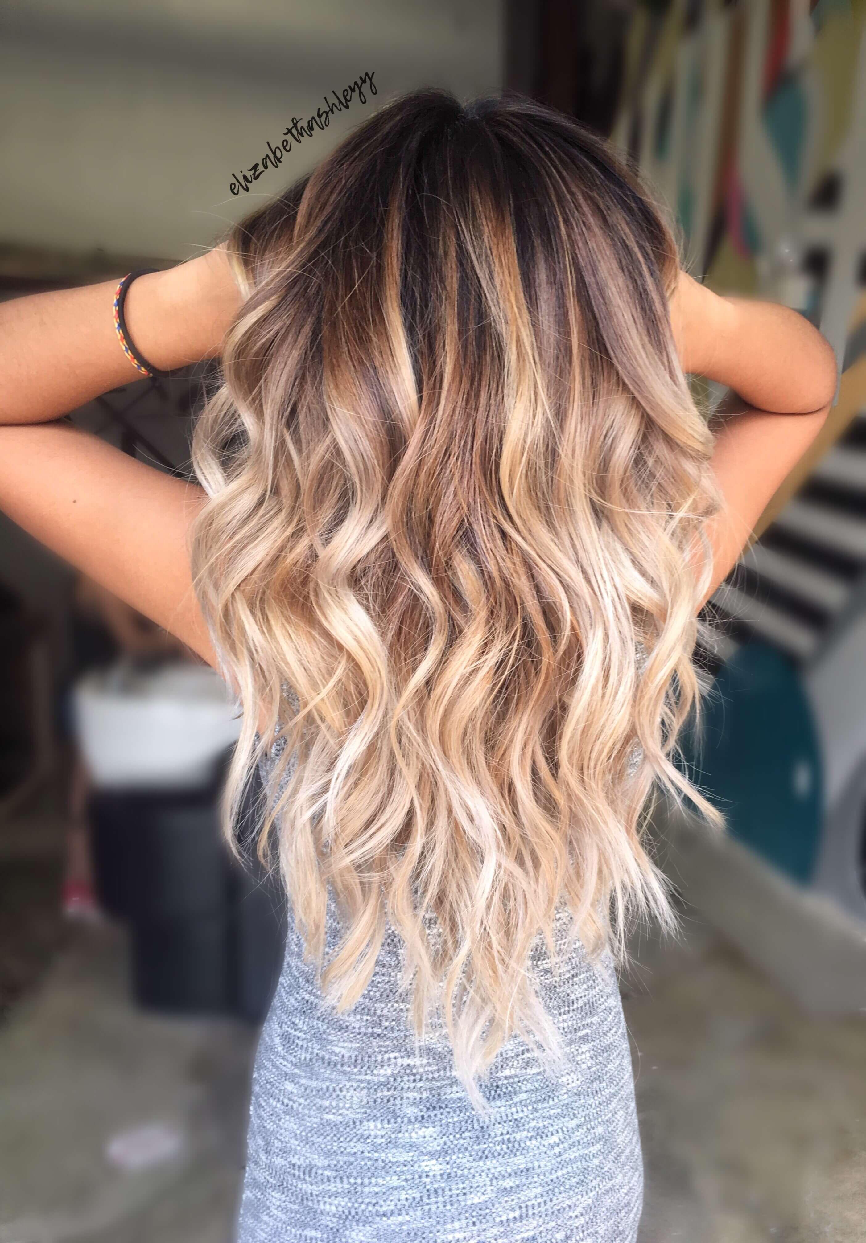 50 Beweise, dass jeder die blonde Ombre Frisur abziehen kann - Neue Damen Frisuren #hair