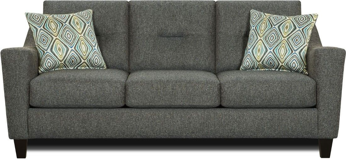 Fusion Furniture The 8210 Whitaker Carbon SofaFeatures