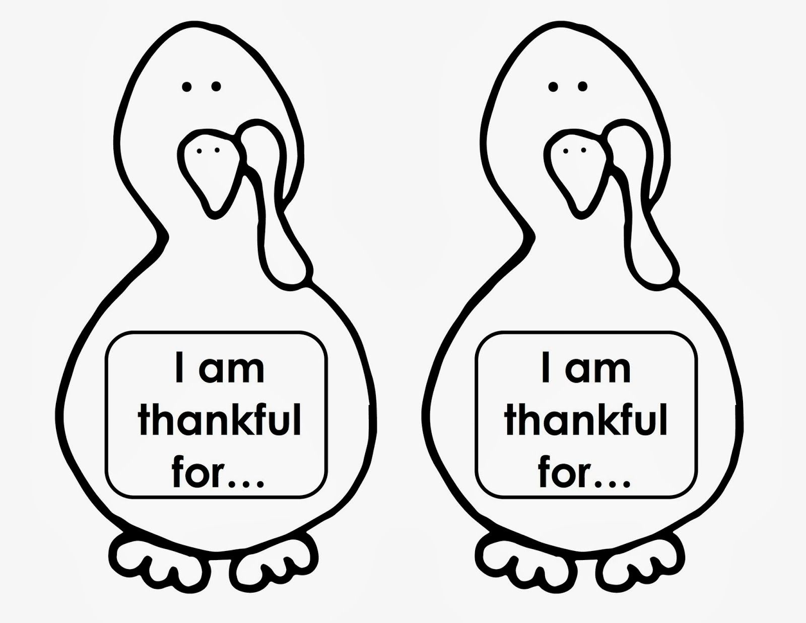 Thanksgiving Turkey  Writing Activity Give Each Of Your Students