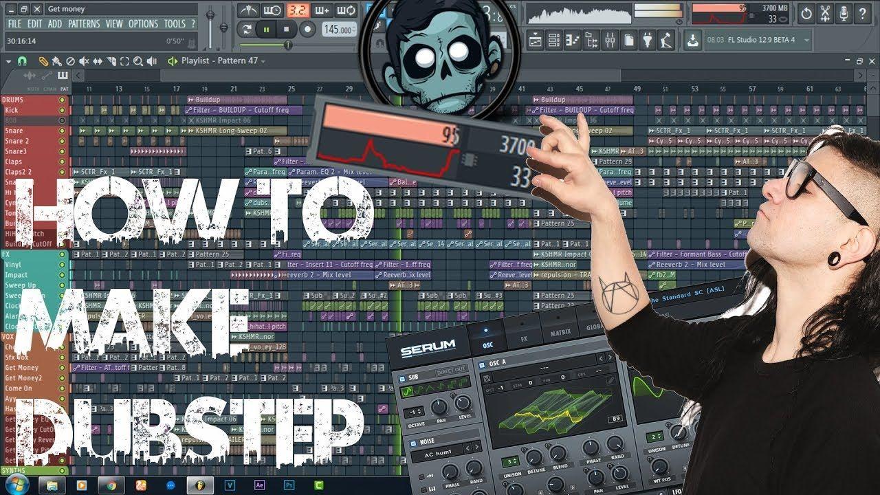 How To Make Dubstep Fl Studio Tutorial Youtube Dubstep Dubstep Music Tutorial