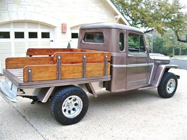 Willys Jeep Pickup Truck Flatbed 4x4 Jeep Pickup Truck Willys Jeep Jeep Wrangler Truck