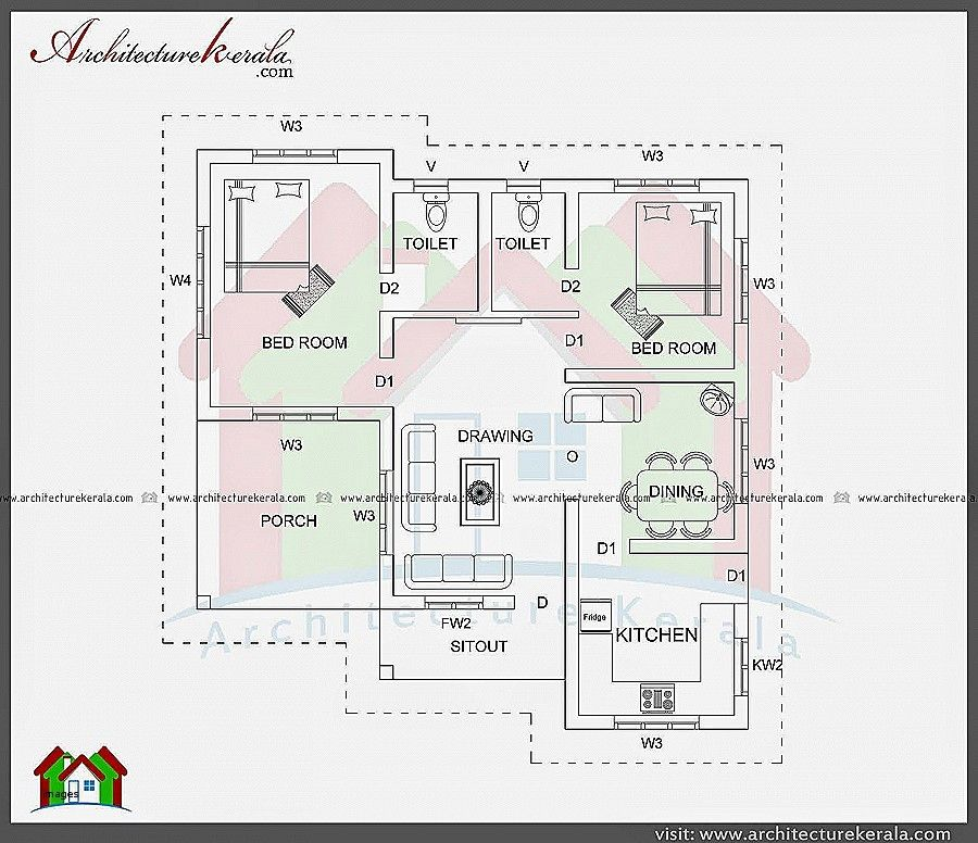 Tamilnadu House Plans North Facing Home Design Bedroom House Plans 2 Bedroom House Plans House Plans
