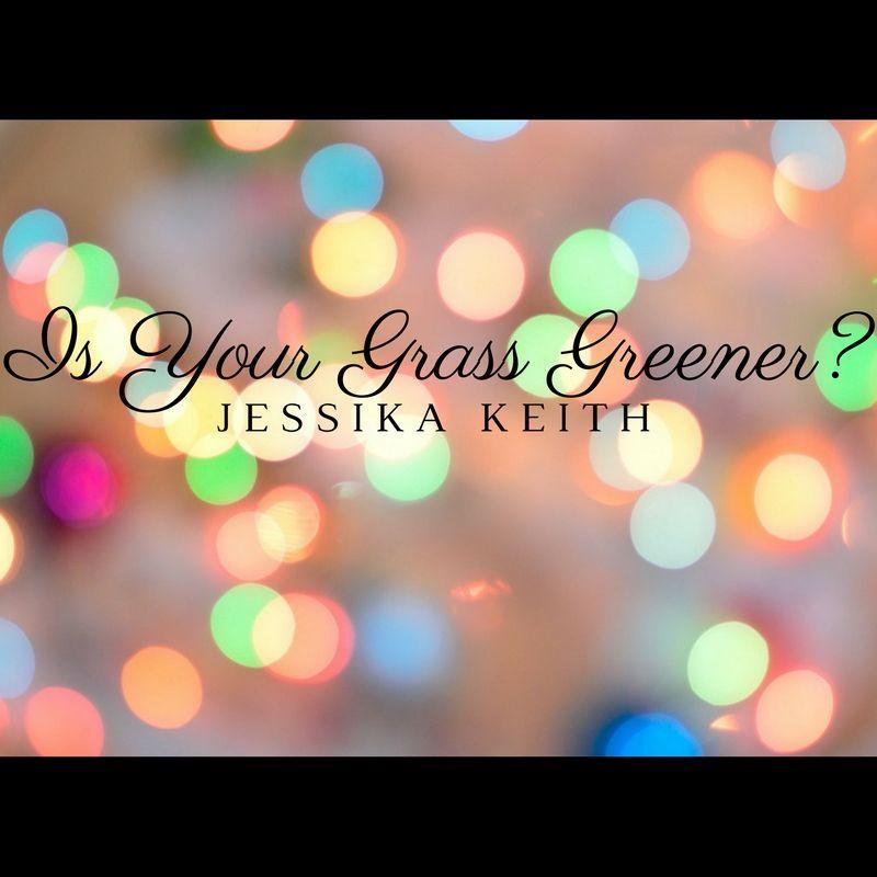 is your grass greener glitter headline