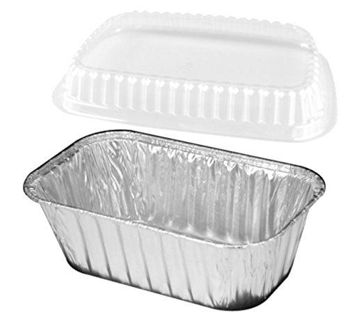Handifoil 1 Lb 25 Set Aluminum Foil Miniloafbread Baking Pan Wclear Low Dome Lid Check Out The Image By Visiting With Images Loaf Bread Mini Bread Loaves Bread Baking