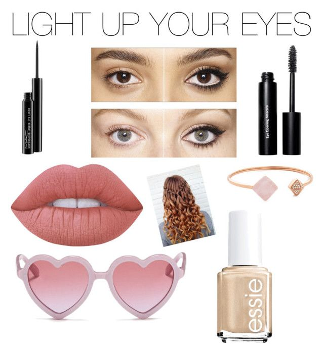 """LIGHT UP YOUR EYES"" by lovelycastle394 ❤ liked on Polyvore featuring beauty, Charlotte Tilbury, Bobbi Brown Cosmetics, MAC Cosmetics, Lime Crime, Michael Kors, Sons + Daughters, Essie and brighteyes"