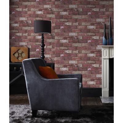 Superfresco Easy Wallpaper SFE Red Brick 32092 Home