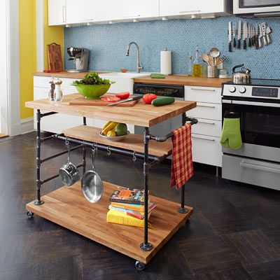 Tool Box Kitchen Island Ideas