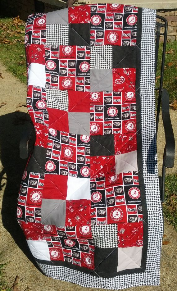 University of Alabama Quilt in Multi by NeNesQuilts on Etsy ... : quilting university - Adamdwight.com