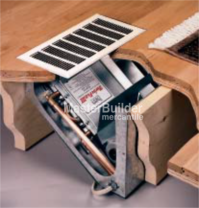 Kickspace Heaters For Pot Heating Hydronic Floor Installation