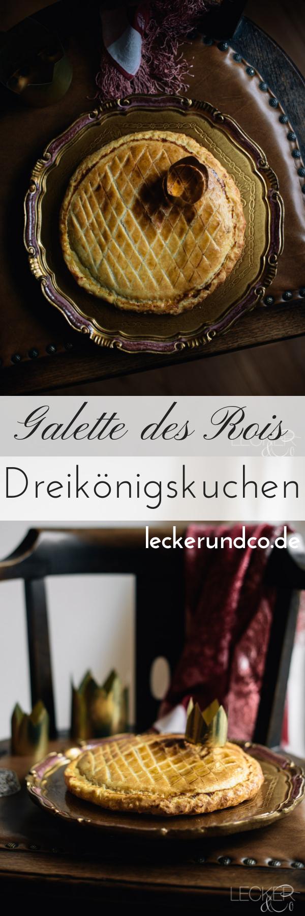 Galette des Rois   Dreikönigskuchen   LECKER&Co   Foodblog aus Nürnberg