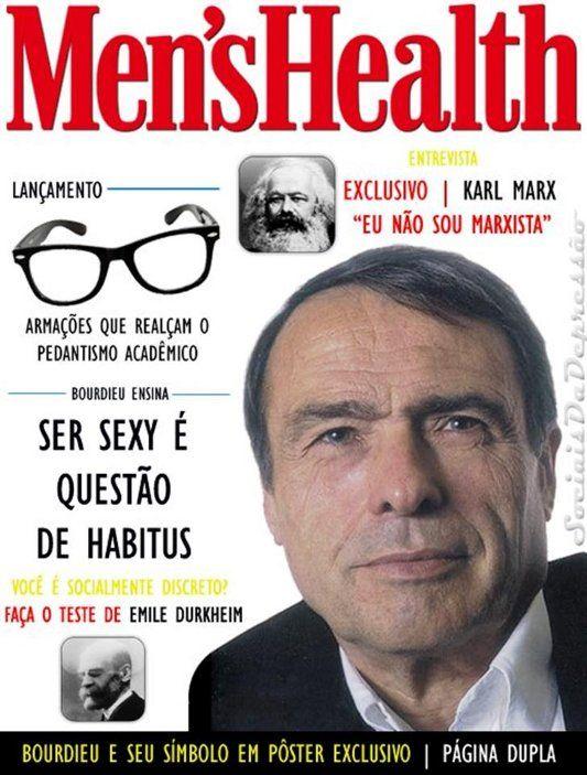 Pierre Bourdieu Cover Mens's Health