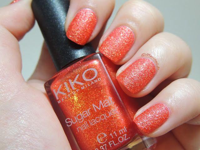 Kiko - 640 Poppy Red - Sugar Mat