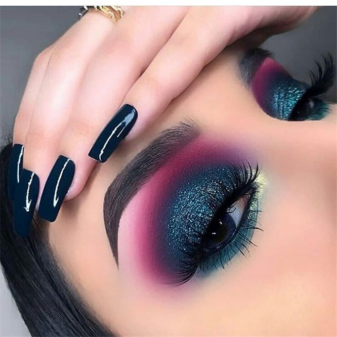 24 Glitter Eye Makeup Ideas - Aray Blog For Chic Women