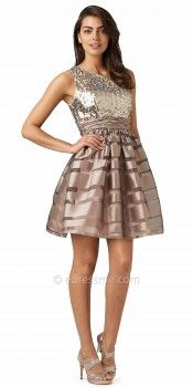 One Shoulder Sequin Party Dresses from Hailey Logan