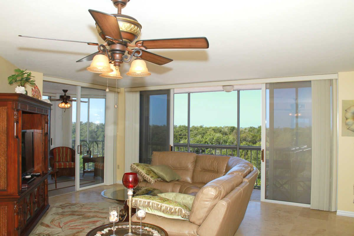 Living Area, St. Maarten,Pelican Bay, Naples FL